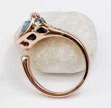 Кольцо с кристаллами Сваровски rs-123, фото 3