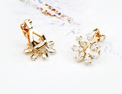 Серьги с кристаллами Swarovski es275, фото 2