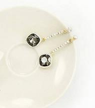 Серьги с кристаллами Swarovski es290, фото 2