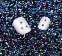 Стразы для ногтей 2 мм, 100 шт, синие, хамелеон, фото 1