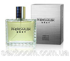 Духи с феромонами мужские PHERO-MUSK GREY, 100 ml