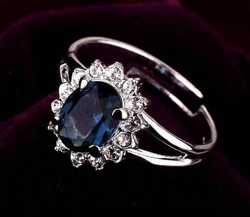 Кільце з кристалами Сваровські rs-140, фото 2