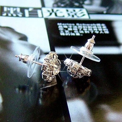 Серьги с кристаллами Swarovski es305, фото 2
