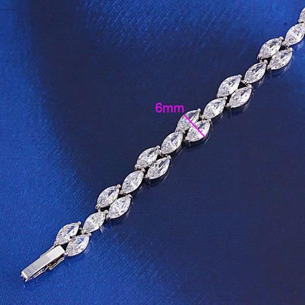 Браслет с кристаллами Swarovski bs34, фото 2