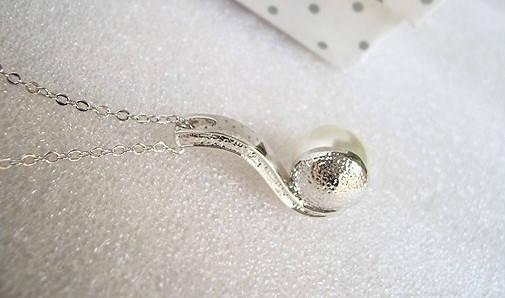 Комплект набор украшений с жемчугом кристаллами Swarovski (Сваровски) kp41, фото 2