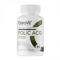 Витамин фолиевая кислота OstroVit - Folic Acid (90 таб)
