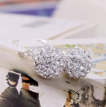 Серьги с кристаллами Swarovski es326, фото 2