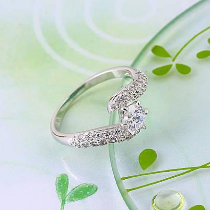 Кольцо с кристаллами Сваровски rs-149, фото 2