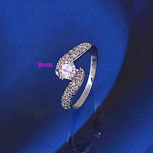 Кольцо с кристаллами Сваровски rs-149, фото 3