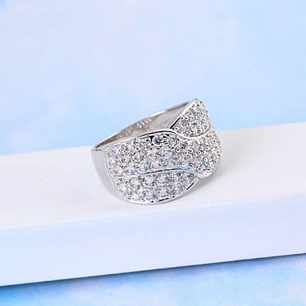 Кольцо с кристаллами Сваровски rs-152, фото 2