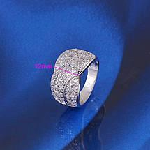 Кольцо с кристаллами Сваровски rs-152, фото 3