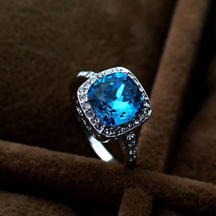 Кольцо с кристаллами Сваровски rs-154, фото 2
