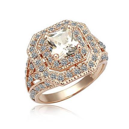 Кольцо с кристаллами Сваровски rs-160, фото 2