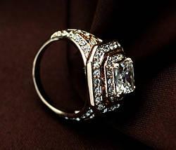Кольцо с кристаллами Сваровски rs-160, фото 3