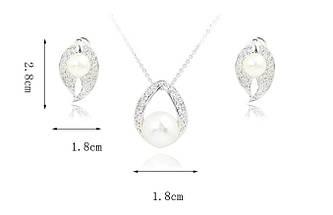 Комплект с кристаллами Сваровски kp51, фото 3