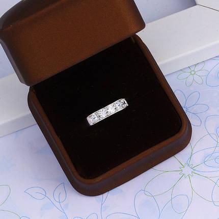 Кольцо с кристаллами Сваровски rs-162, фото 2