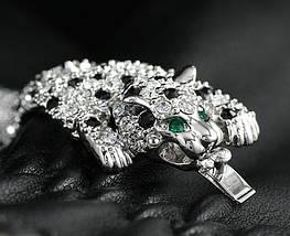 """Браслет с кристаллами Сваровски """"Леопард"""" bs13s, фото 3"""