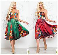 Платье в цветочный принт только опт Херсон