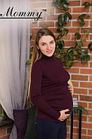 Гольф утепленный для беременных для холодного времени года Mommy S-L разных цветов