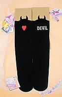 Детские капроновые колготки-чулочки Devil