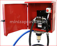 Мобильный заправочный блок ARMADILLO 12,24,220В для дизельного топлива в металлическом ящике