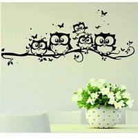 Наклейка на стену виниловая для дома , салона и кафе (042712)