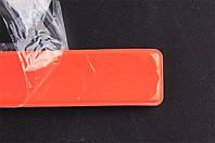 Светоотражающая лента-браслет (фликер) оранжевая