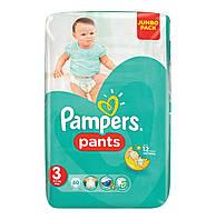 Трусики PAMPERS Pants 3 Midi (6-11кг) 60шт.