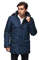 Зимняя куртка для мужчин.   синий с черным