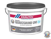 Грунт с кварцевым песком KRAUTOL  QUARZGRUND UNI (25кг)