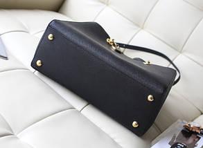 Женская сумка Michael Kors Cynthia (Майкл Корс Синтия) bg34-black (ЧЕРНАЯ) копия, фото 3