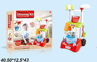 Детский игровой набор для уборки 17005 красная