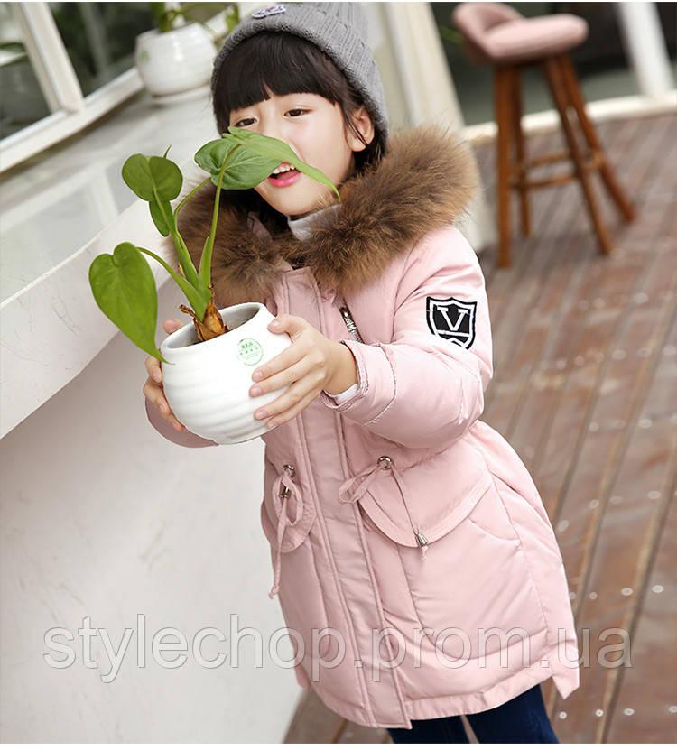 Пальто-пуховик дитячий зима