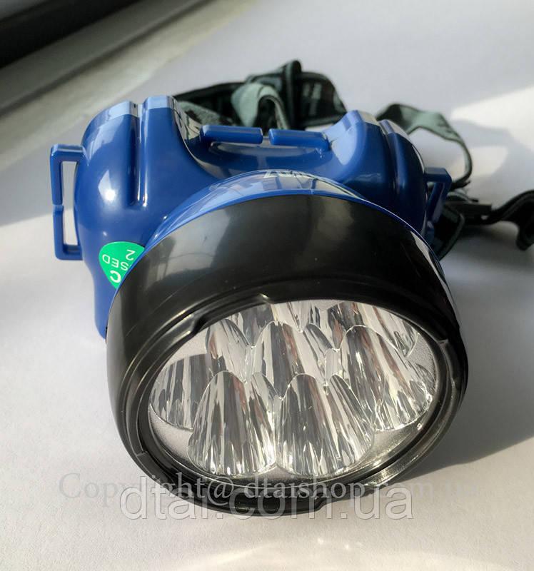 Фонарик налобный светодиодный LED 0,7W