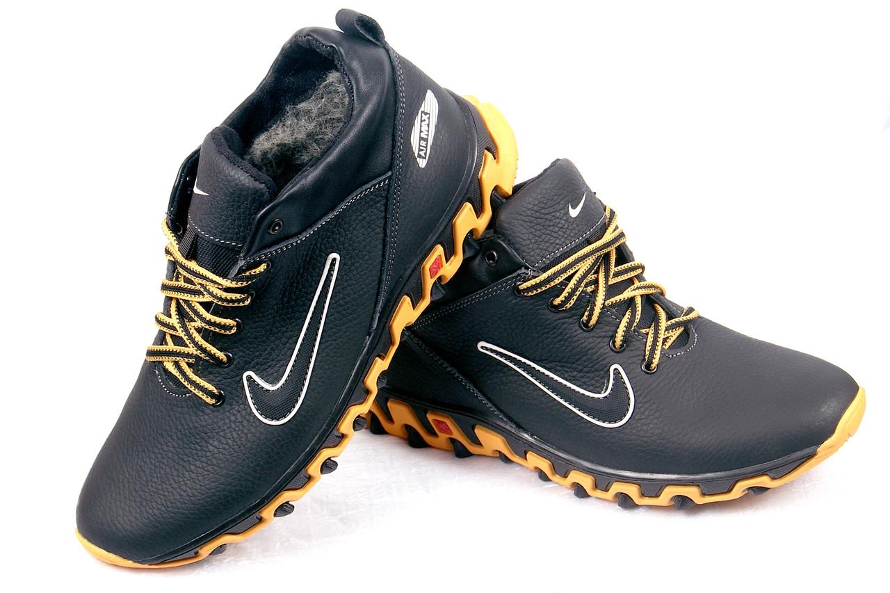 15988428 Зимние ботинки Nike кожаные: продажа, цена в Мелитополе. зимняя ...