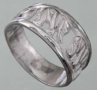 Срібний перстень без вставок