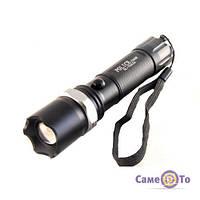 Тактичний ліхтар LED Bailong 1000W BL-T8626, 1000190, Тактичний ліхтар LED Police Bailong 1000W BL-T8626 (байлонг) купити, Ліхтарик поліцейський,