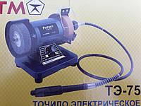 Точило электрическое (электроточило) РИТМ TЭ-75 (с гибким валом)