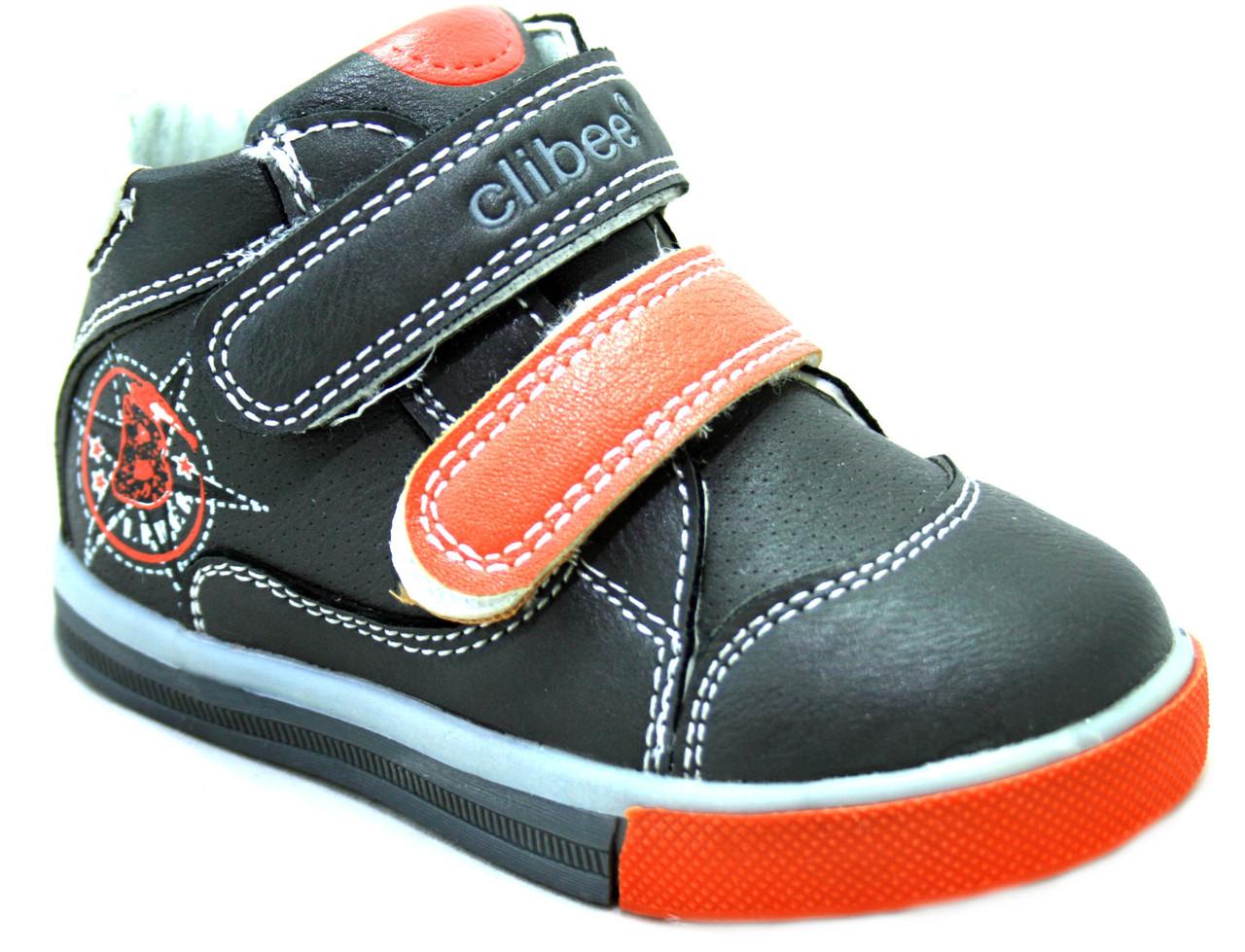 Дитячі черевики для хлопчика Clibee Румунія розміри 21-26
