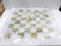 Шахматы из натурального оникса 20*20 см