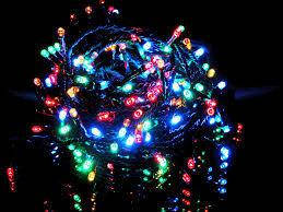 Новорічна гірлянда на 400 світлодіодних лампочок різнокольорова, фото 2