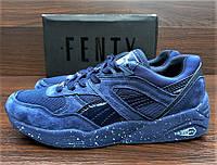 Синие мужские кроссовки Fenty Puma Trinomic