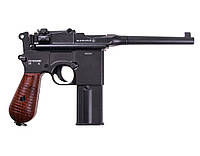 Пневматический револьвер Umarex Legends C96 Full Metal 4,5 mm (5.8197)