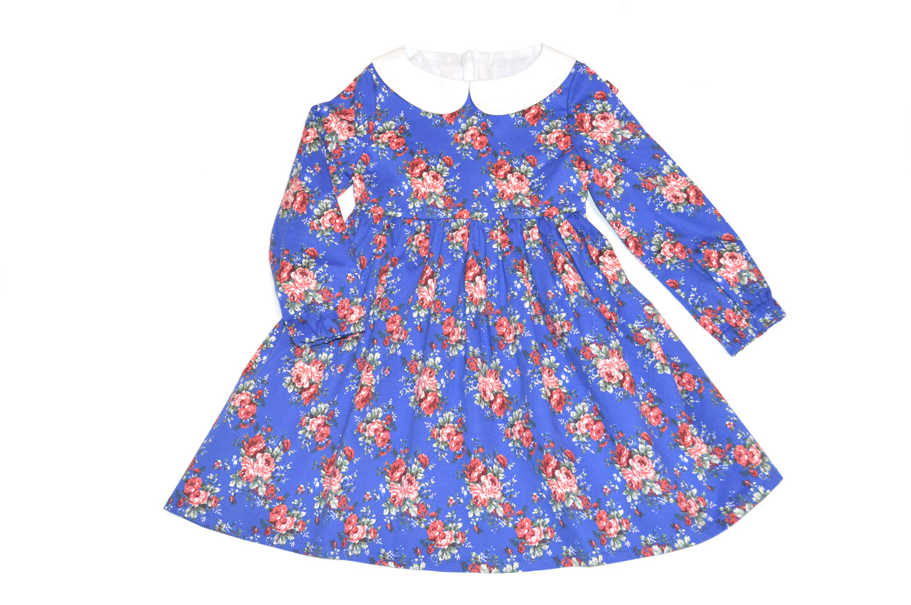 Платье детское  « Цветы  ». Нарядное платье