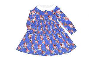 Платье детская  « Цветы  ». Нарядное платье