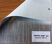 Ткань фольга рулонных штор Тропик