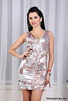 Платье вечернее пайетки Манхэттен ян