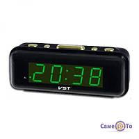 ЛУЧШАЯ ЦЕНА! Электронные часы VST 738 с будильником  6001071 лучшие электронные часы, электронные часы, настольные электронные часы, настольные