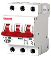 Модульный автоматический выключатель C25, 3 р, 25А, C, 10кА