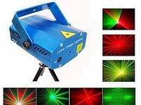 Лазерный проектор 6 в 1  стробоскоп лазер Шоу  6 эфектов   ХИТ !  Акция !!!